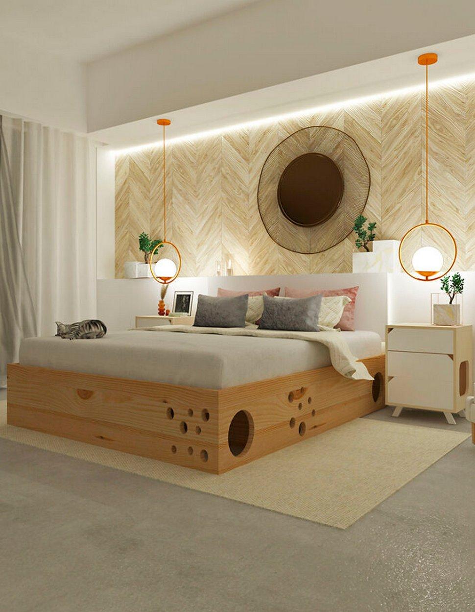 Des concepteurs ont créé ce lit génial pour les propriétaires de chats