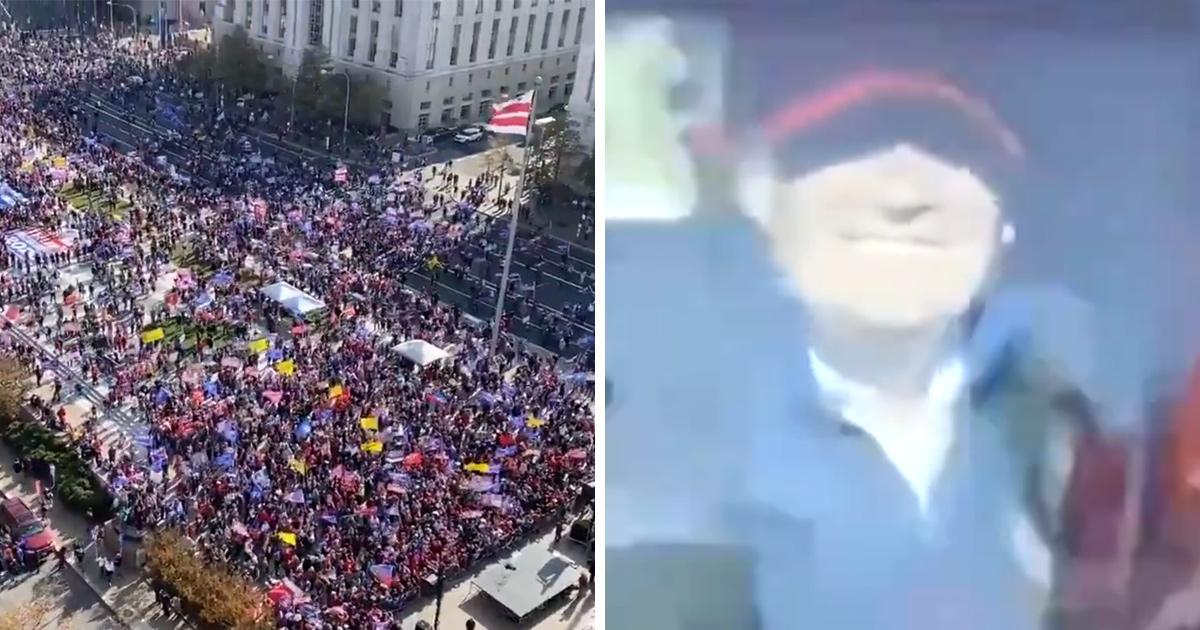 Des milliers de partisans de Trump se sont rassemblés à Washington pour protester contre l'élection
