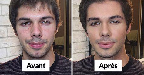 Ce maquilleur russe fait vivre aux gens ce qu'il appelle «l'effet cendrillon» et voici ses 22 meilleures transformations