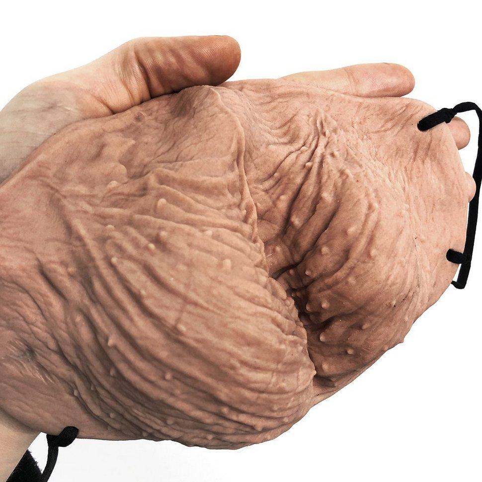 Vous pouvez maintenant obtenir un masque qui ressemble à des testicules