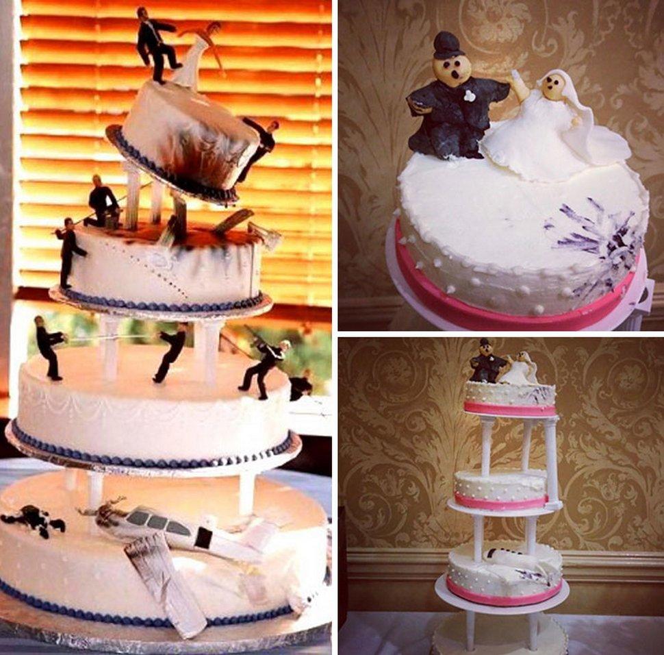 22 fois où des gâteaux de mariage n'ont pas répondu aux attentes des gens