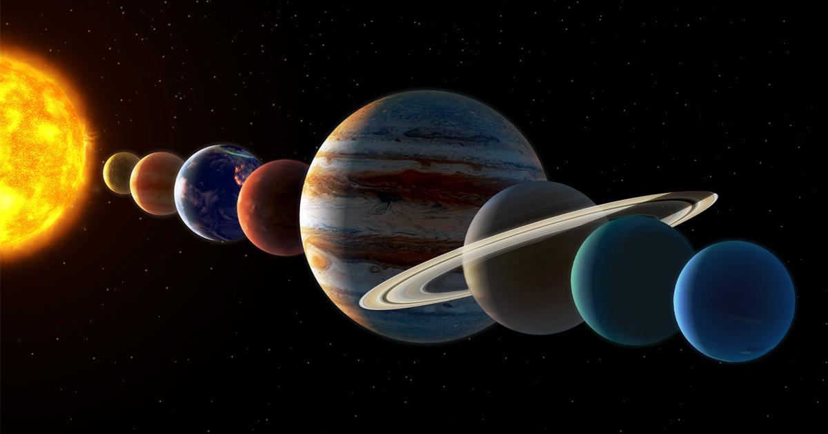 Les 7 planètes du Système solaire seront visibles à l'oeil nu cette semaine