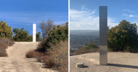Un troisième monolithe en métal vient d'apparaitre en Californie