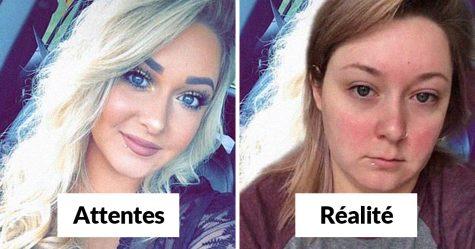 22 filles révèlent leur véritable apparence sans maquillage pour le Catfish Challenge