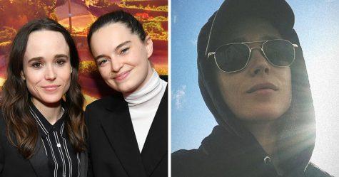 La femme d'Elliot Page dit qu'elle est fière du coming out trans de la star