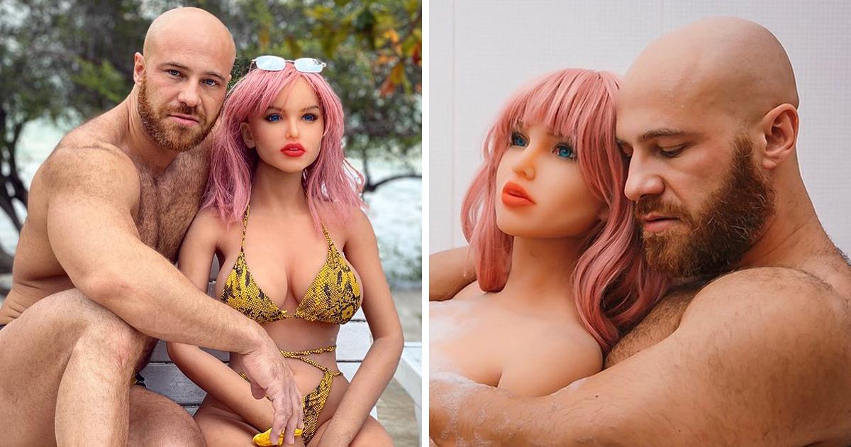 Cet homme qui a épousé une poupée gonflable révèle qu'elle est tragiquement brisée quelques jours avant Noël