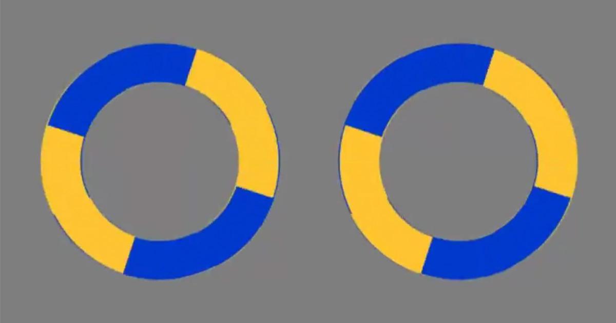 Cette illusion d'optique montrant des cercles qui semblent se déplacer est devenue virale sur Internet