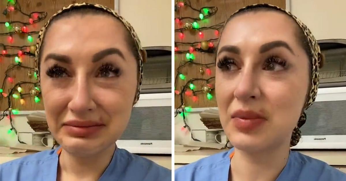 Une infirmière en larmes supplie les gens de cesser d'être négligents alors que les hôpitaux sont débordés