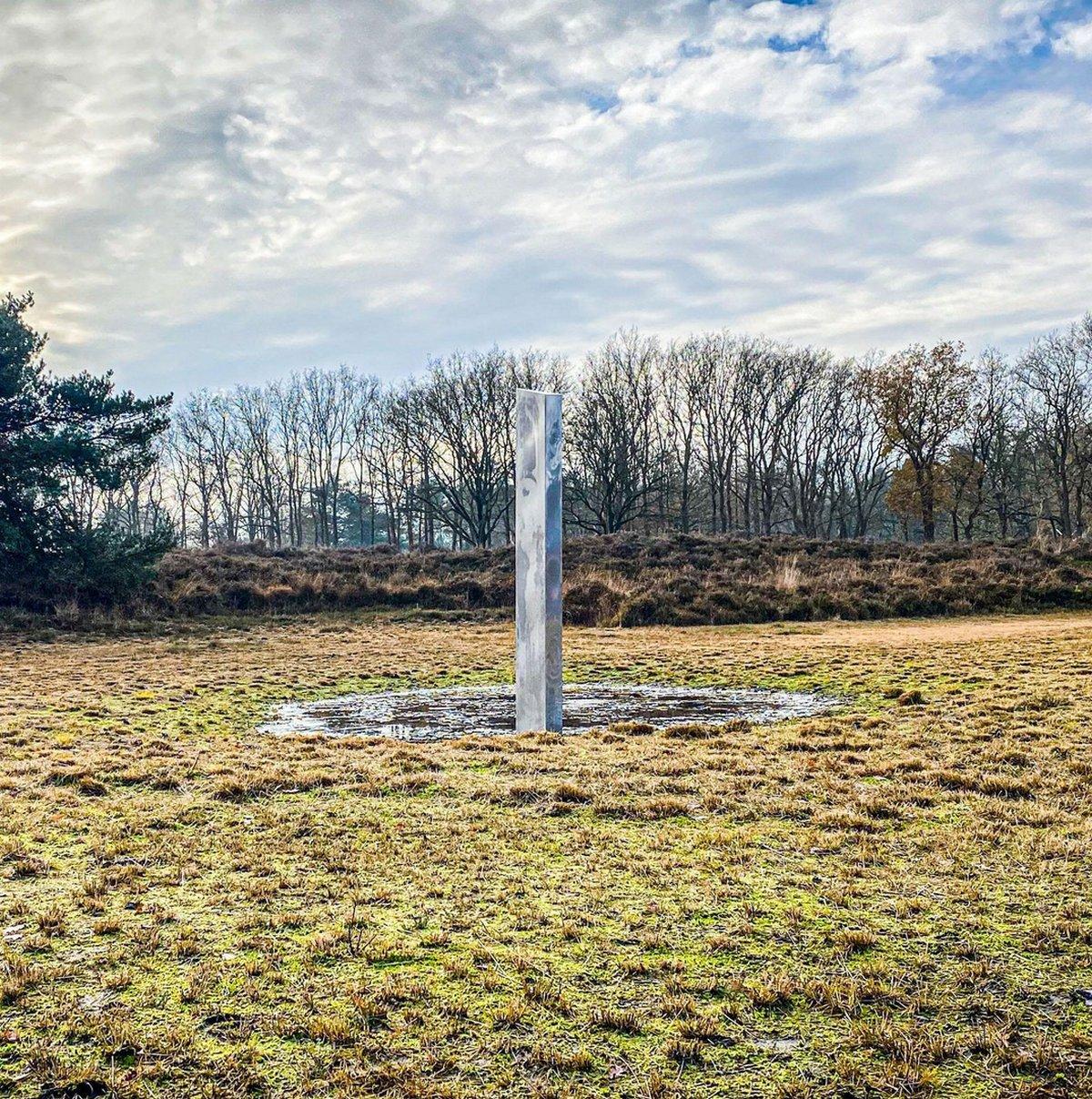 Un autre monolithe mystérieux vient d'apparaître aux Pays-Bas