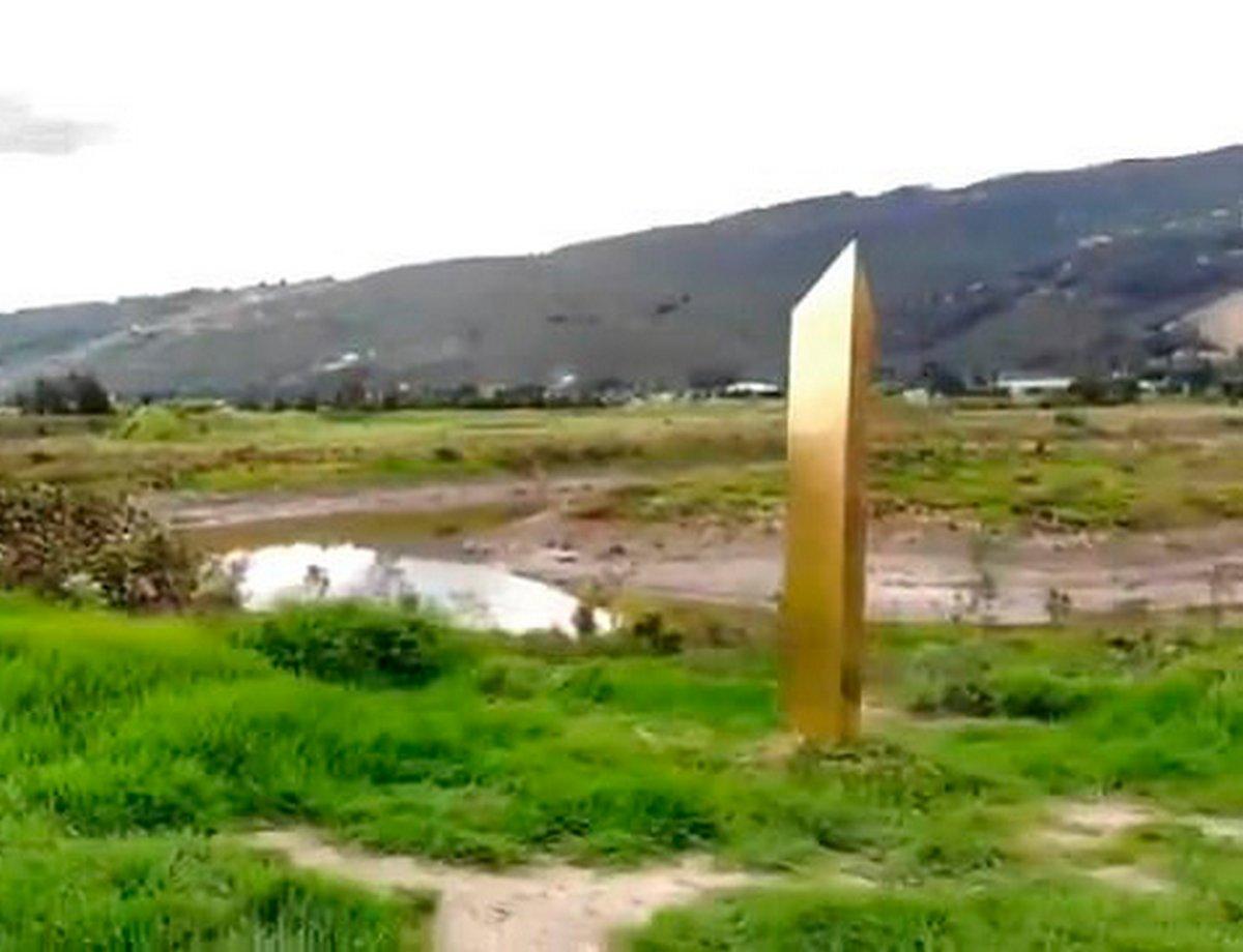 Un monolithe d'or a été découvert en Colombie