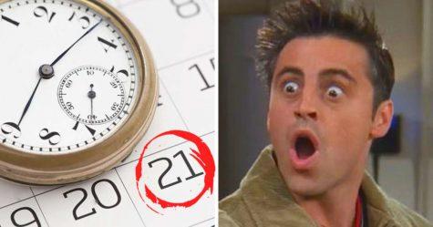 Aujourd'hui, c'est le 21e jour de la 21e année du 21e siècle