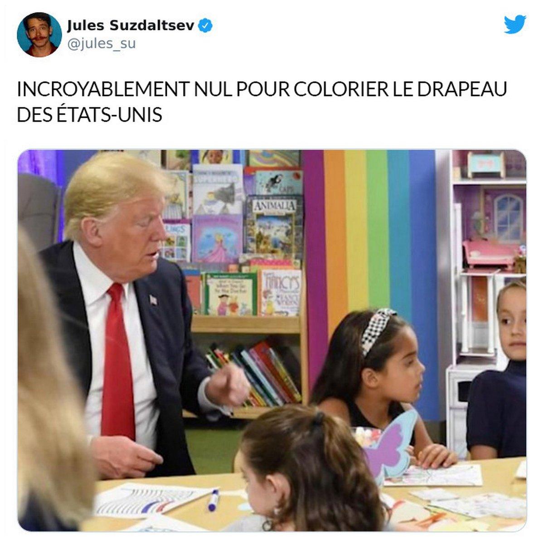 Cet homme a publié les choses les plus stupides que Trump a faites au cours des 4 dernières années