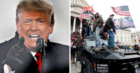 Donald Trump déclare l'état d'urgence avant l'investiture de Joe Biden