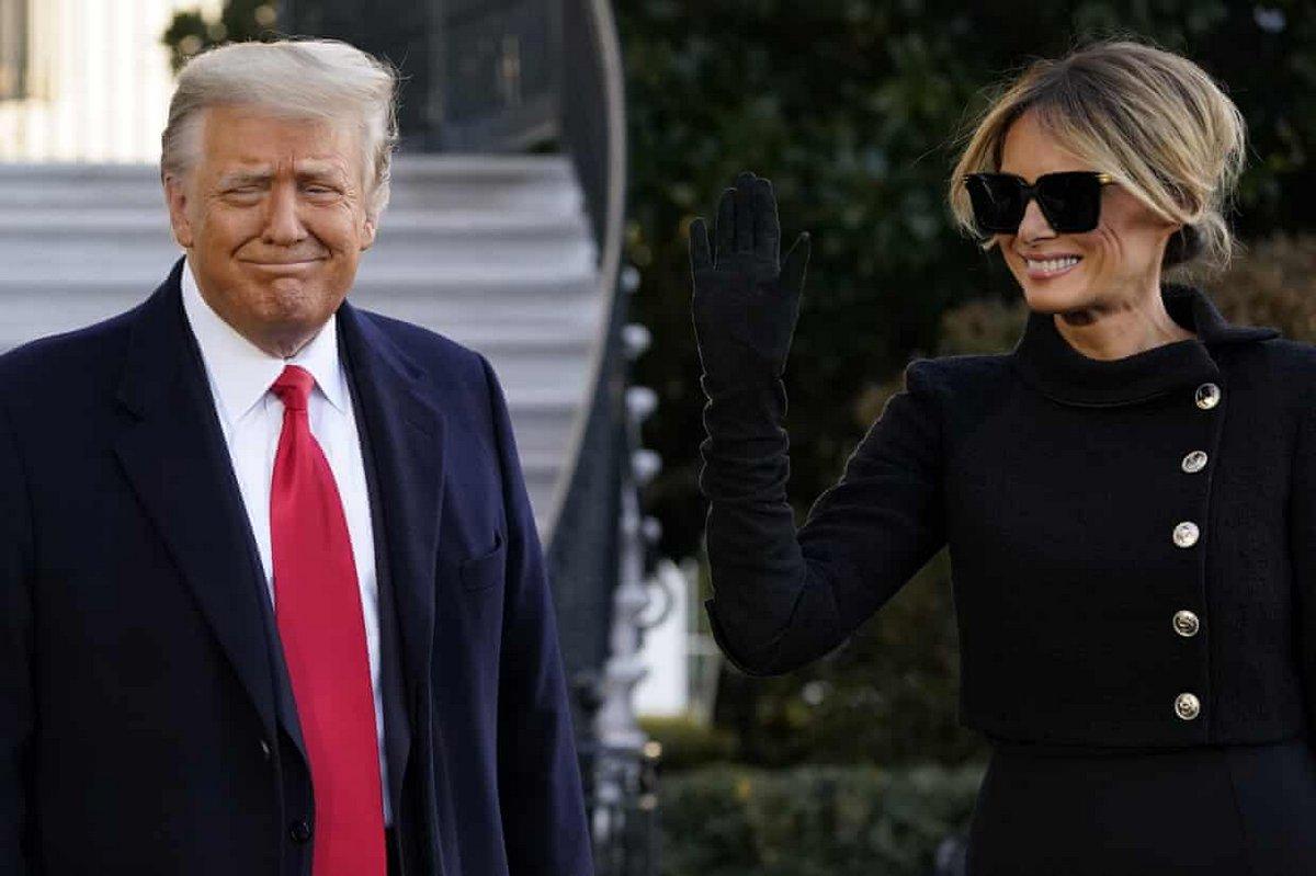 Donald Trump quitte la Maison-Blanche pour la dernière fois en tant que président