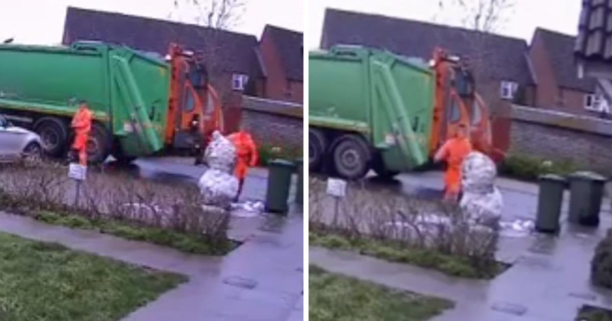 Un éboueur perd son emploi après avoir détruit le bonhomme de neige d'un enfant de trois ans