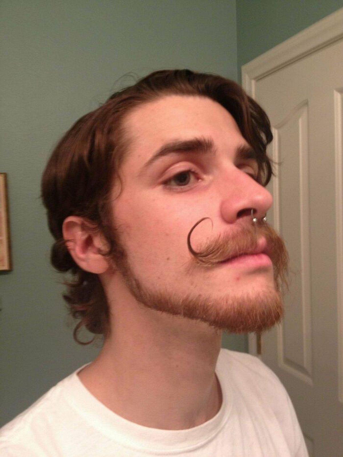 Ces hommes ont osé le look «barbe queue de singe»