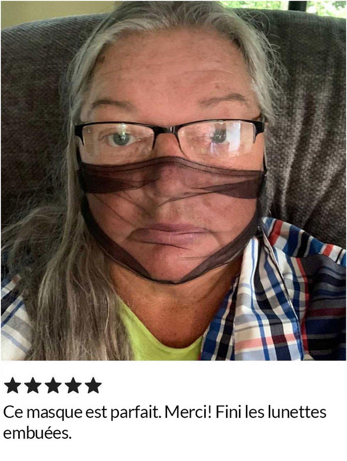 Ces gens adorent les masques respirants qui n'offrent aucune protection contre le COVID-19