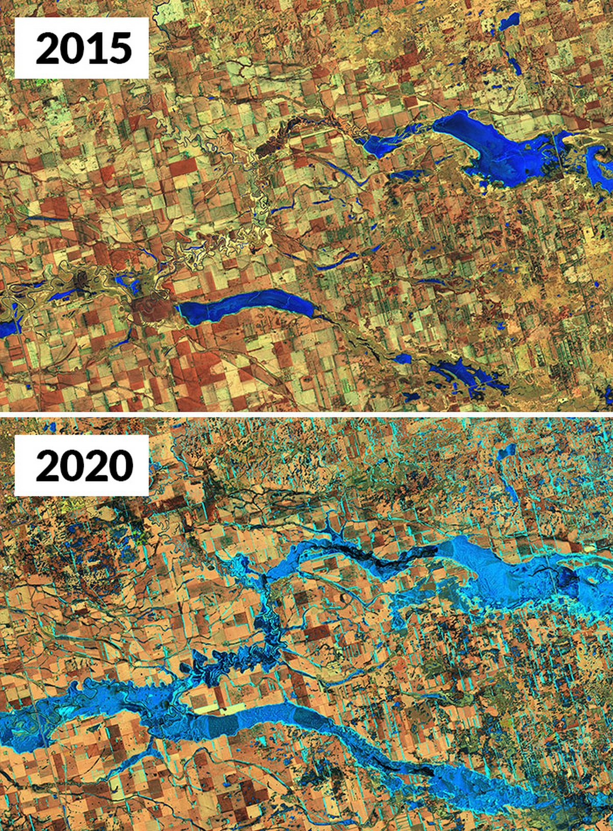 Ces images de la NASA montrent à quel point les changements climatiques sont réels
