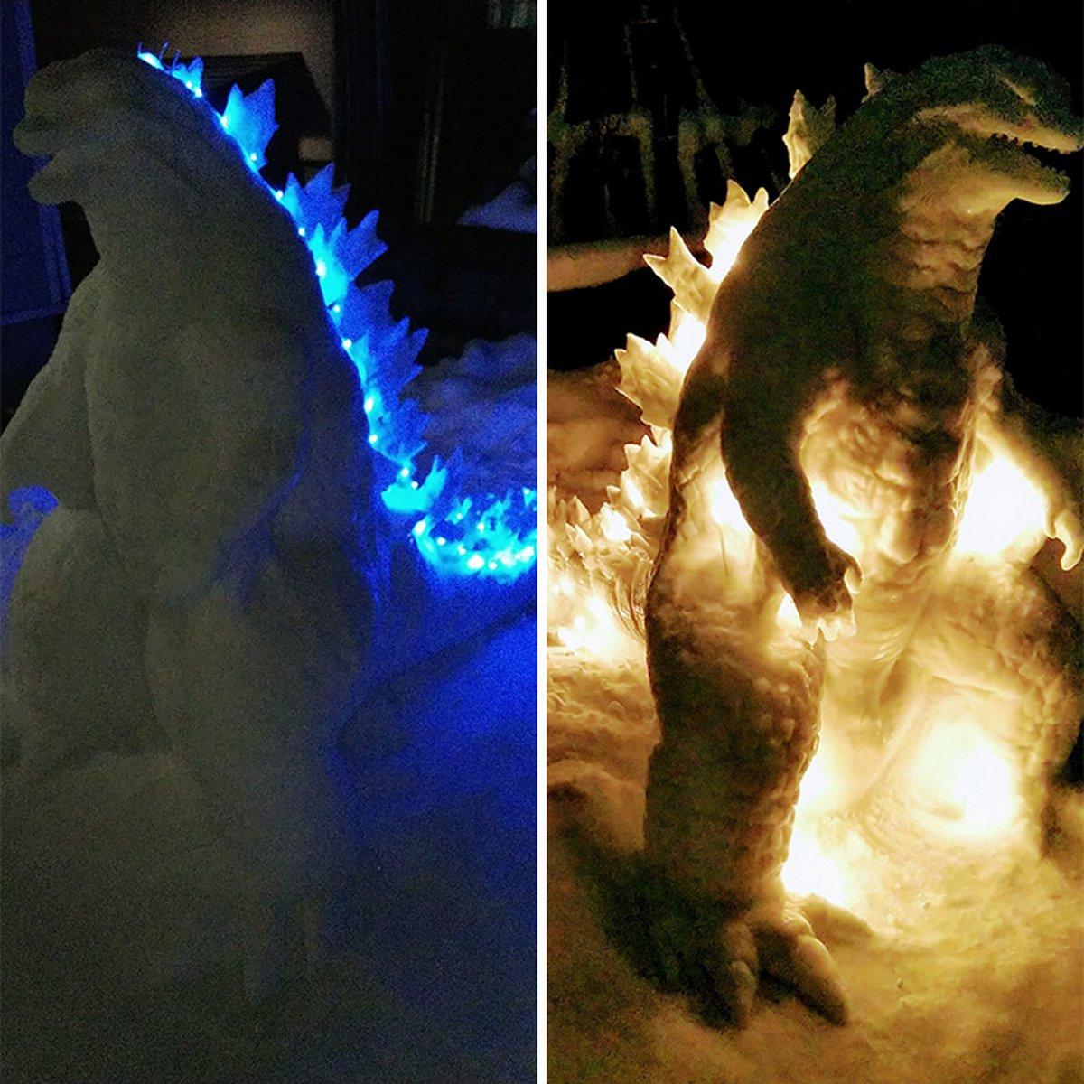 Cet artiste japonais crée des sculptures de neige hallucinantes et voici les 22 plus cool