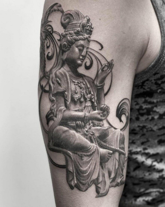 22 tatouages fascinants par un artiste suédois spécialisé dans le réalisme noir et gris ! Par Karine Larcher (Ipnoze) Tatouages-realistes-noir-gris-mrtstucklife-006