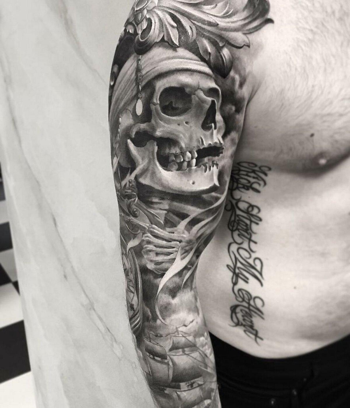 22 tatouages fascinants par un artiste suédois spécialisé dans le réalisme noir et gris ! Par Karine Larcher (Ipnoze) Tatouages-realistes-noir-gris-mrtstucklife-018