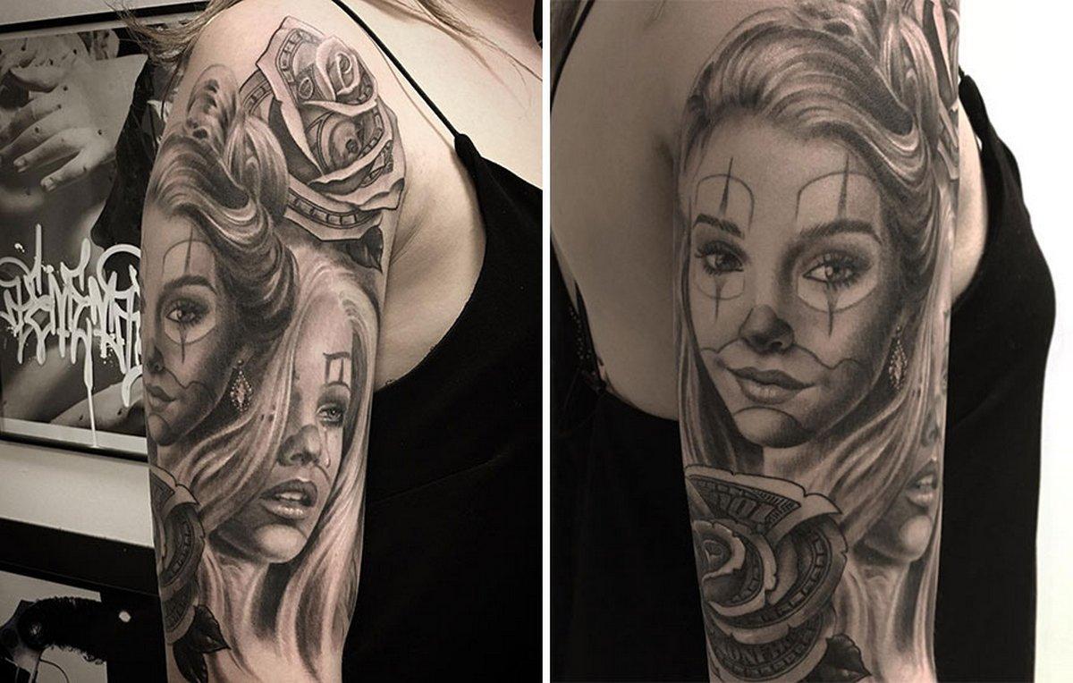 22 tatouages fascinants par un artiste suédois spécialisé dans le réalisme noir et gris ! Par Karine Larcher (Ipnoze) Tatouages-realistes-noir-gris-mrtstucklife-030