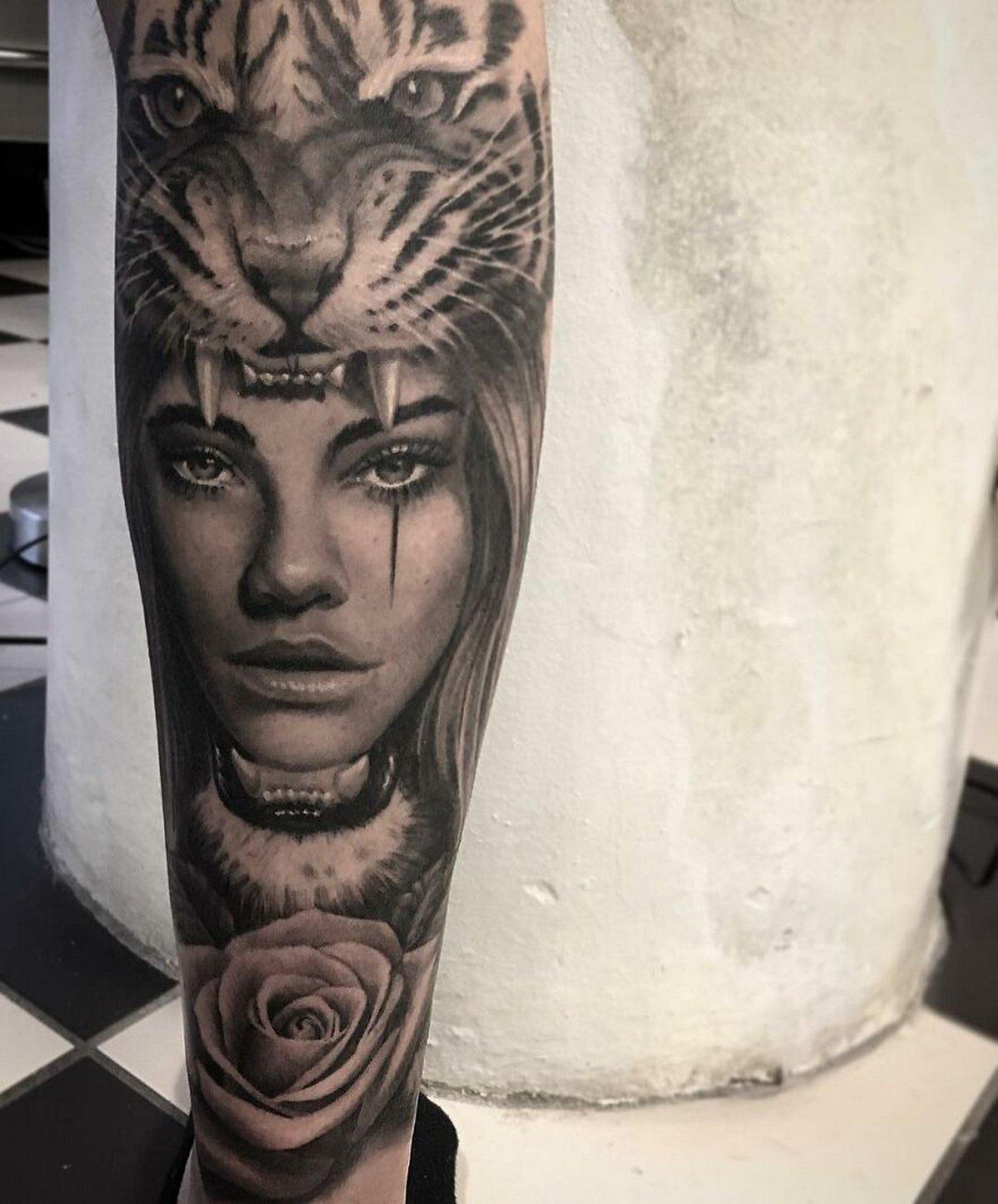 22 tatouages fascinants par un artiste suédois spécialisé dans le réalisme noir et gris ! Par Karine Larcher (Ipnoze) Tatouages-realistes-noir-gris-mrtstucklife-033