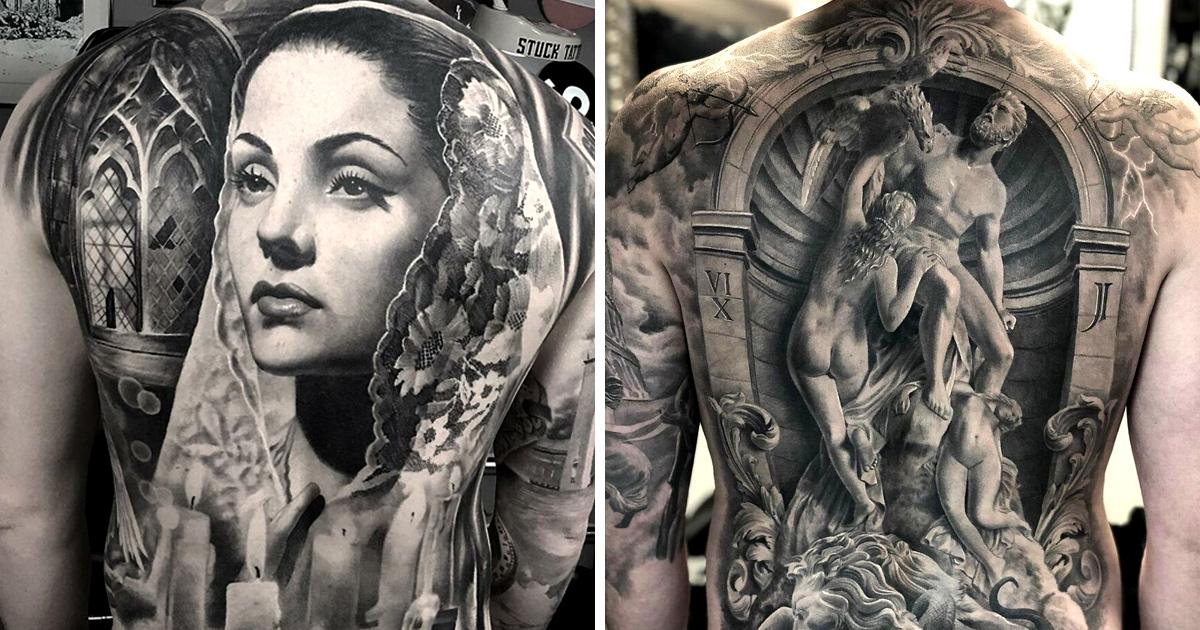 22 tatouages fascinants par un artiste suédois spécialisé dans le réalisme noir et gris ! Par Karine Larcher (Ipnoze) Tatouages-realistes-noir-gris-mrtstucklife