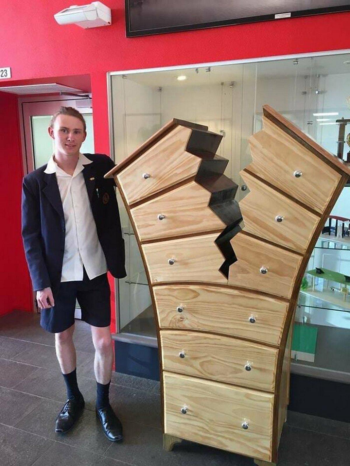 Ce groupe en ligne salue les ébénistes et leurs compétences en travail du bois et voici leurs plus belles créations
