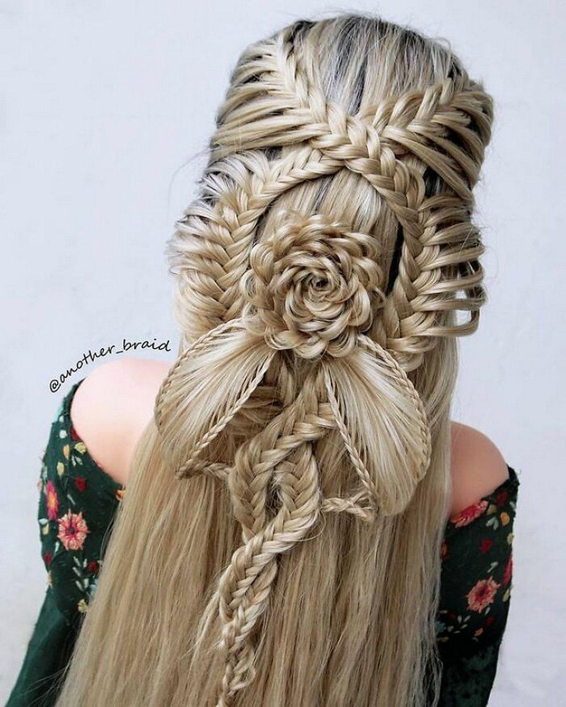 Ces coiffures à tresses fascinantes ont été créées par une artiste macédonienne autodidacte