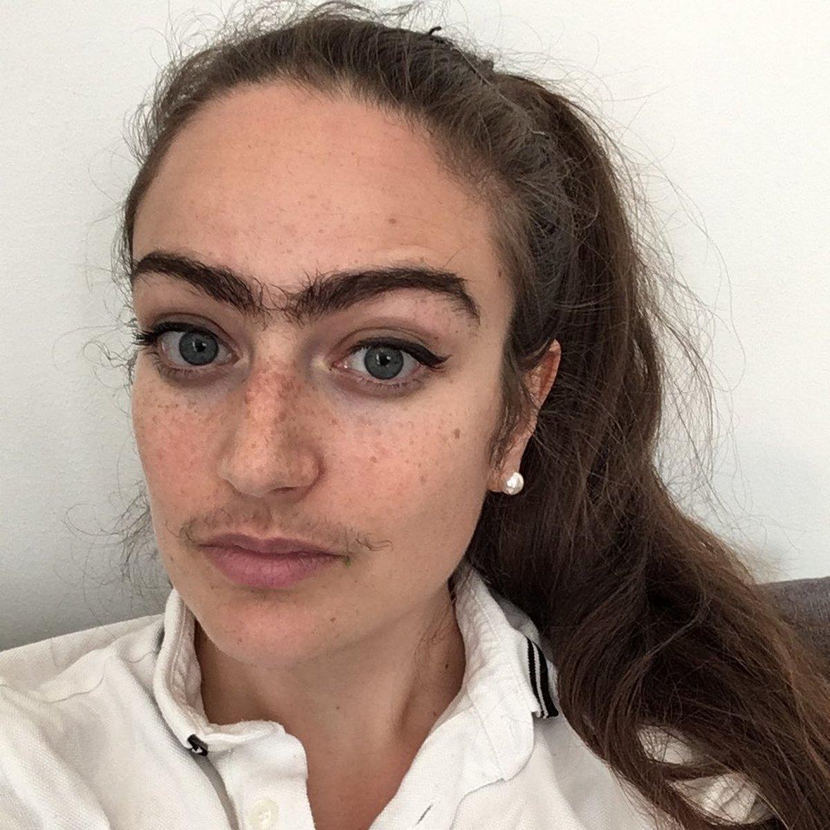 Cette femme refuse de se raser la moustache et le monosourcil pour «filtrer» les mauvais rencards
