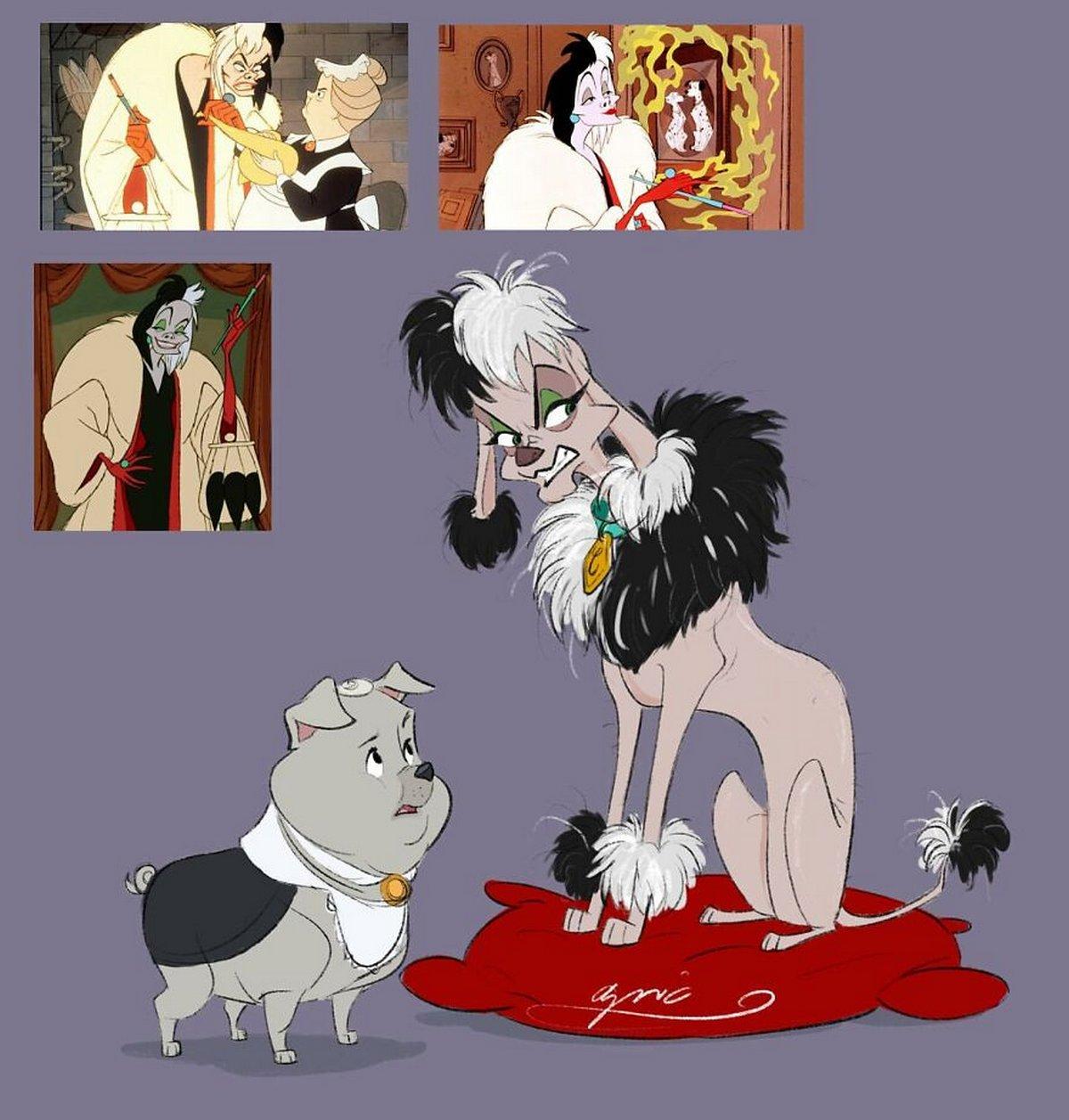 Cet artiste transforme les animaux des films Disney en humains et vice versa