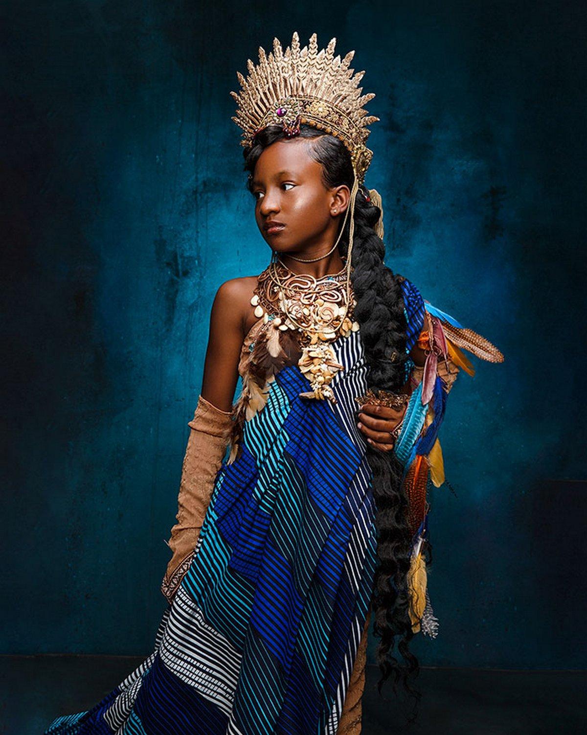 Ces magnifiques photos montrent à quoi ressembleraient les princesses Disney si elles étaient afro-américaines