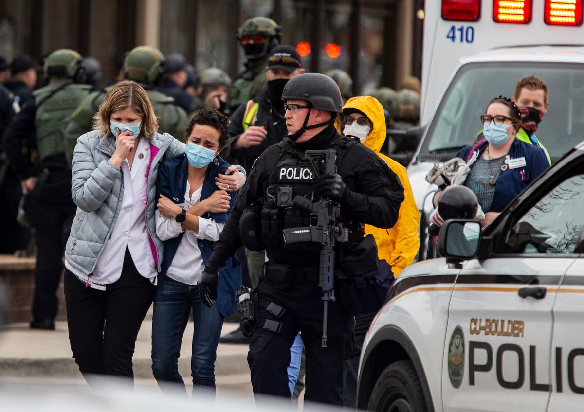 Il y a déjà eu 104 fusillades de masse aux États-Unis depuis le début de l'année 2021