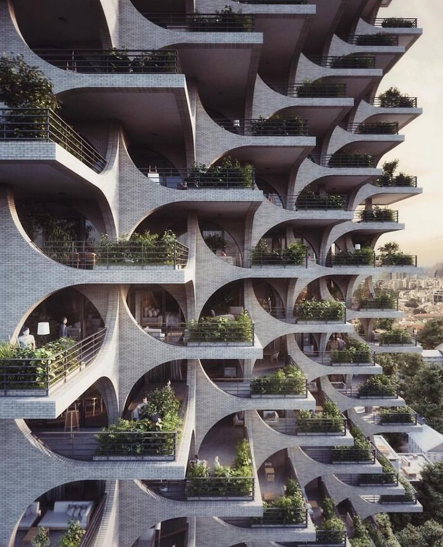 Ces architectes se sont surpassés en créant des oeuvres qui ont été saluées par des milliers de personnes en ligne