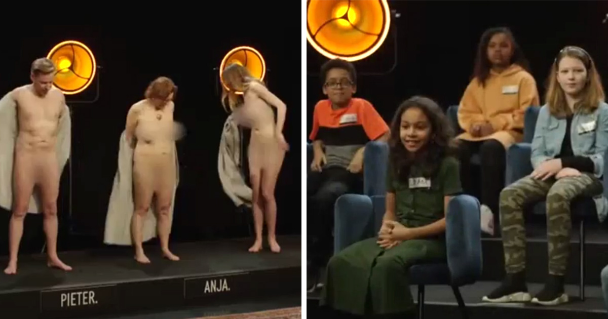 Cette émission controversée pour enfants présente des adultes entièrement nus devant les enfants