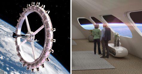 Le premier hôtel de l'espace avec des restaurants et un cinéma ouvrira ses portes en 2027