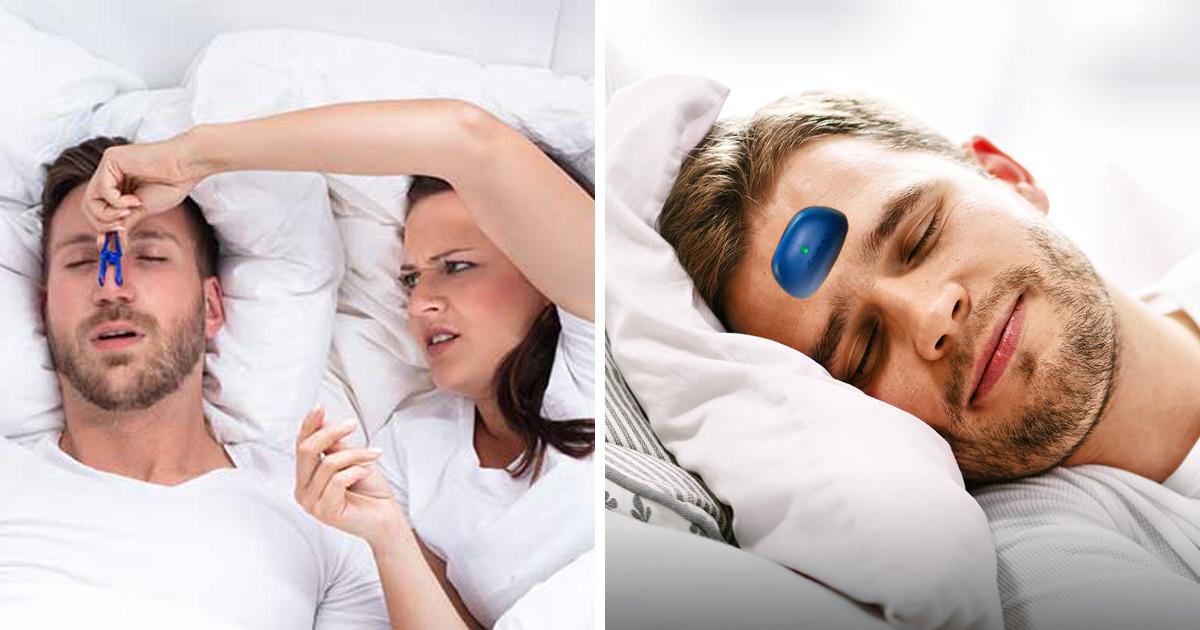 Tu peux maintenant acheter un vibreur pour buzzer ton partenaire lorsqu'il ronfle