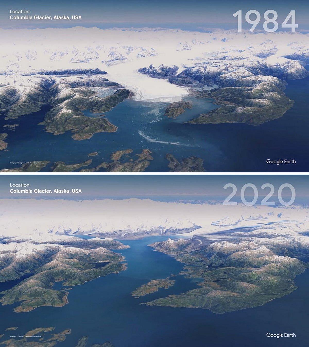 Google Earth présente 16 images satellites qui montrent la triste différence que les gens ont faite dans le monde