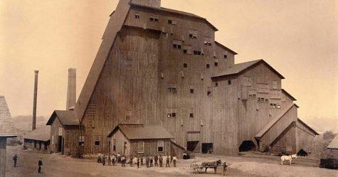 Ces bâtiments intéressants ont été perdus au fil du temps et de l'évolution du monde