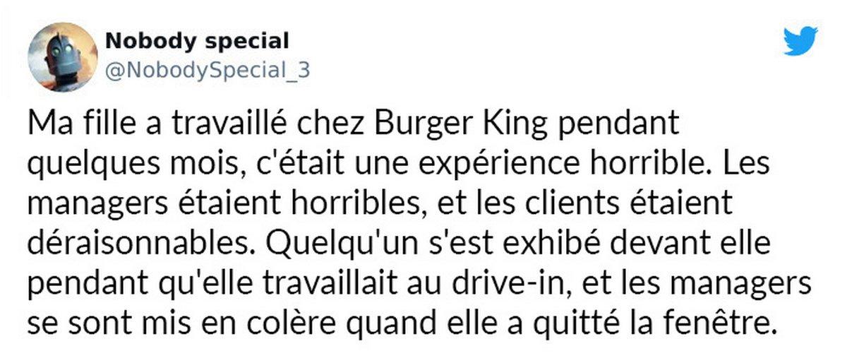 Burger King appose une affiche demandant aux parents de jeunes de 14 et 15 ans de les laisser postuler pour un emploi et les gens sont scandalisés