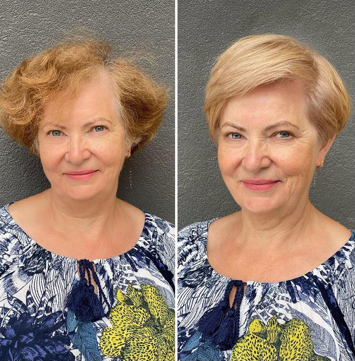 Cette coiffeuse montre à quel point une coiffure peut changer une personne