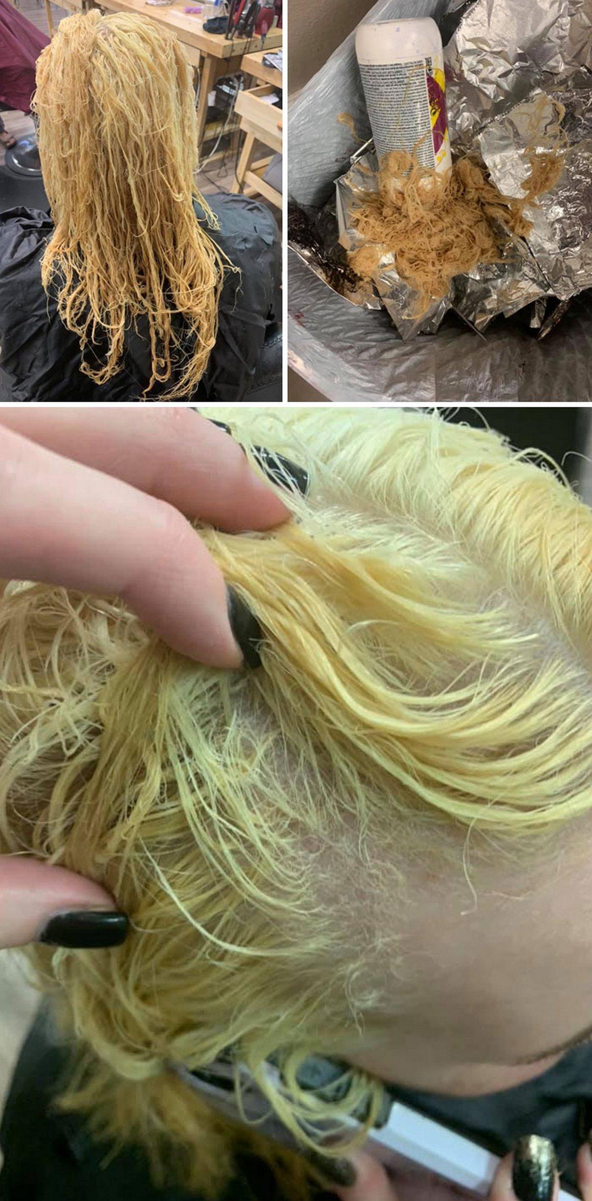 Après avoir vu ces échecs de coloration des cheveux, vous allez vous réjouir de ne pas être la «victime» sur les photos