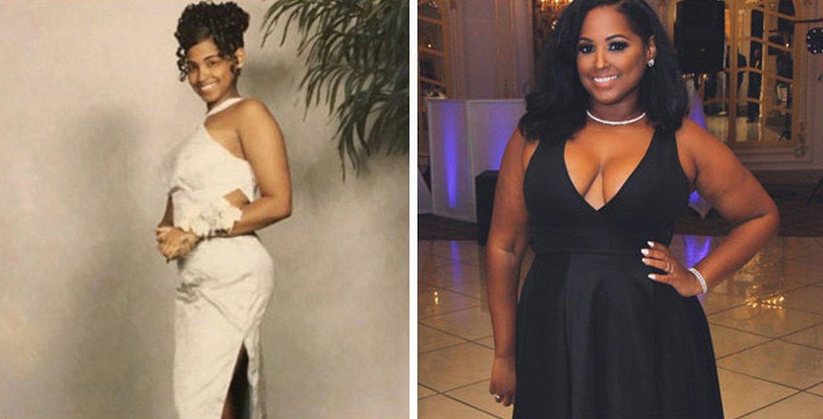 Ces femmes ont partagé des photos avant et après leur prise de poids pour célébrer l'amour de soi