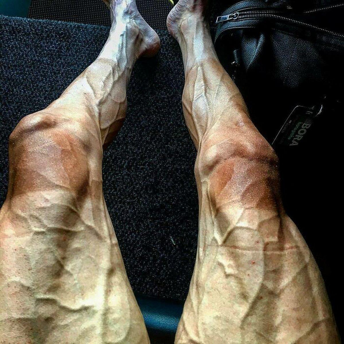 Ces photos flippantes d'athlètes olympiques vont vous donner une nouvelle perspective sur le corps humain