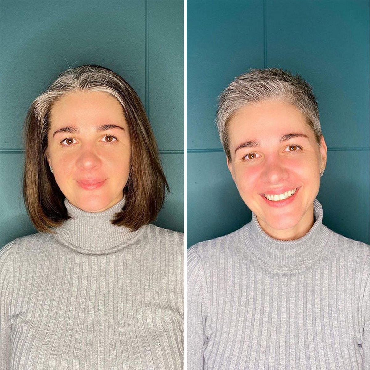 Ces femmes qui ont osé se faire couper les cheveux courts ont obtenu des résultats impressionnants grâce à cette coiffeuse