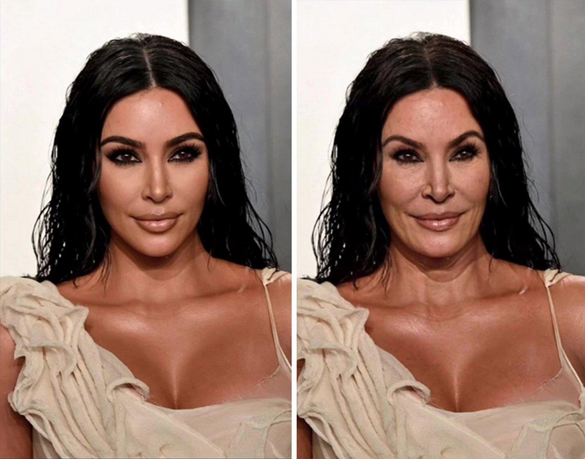 Ces images montrent à quoi ressembleront certaines célébrités dans 40 ans si elles vieillissent comme des gens ordinaires