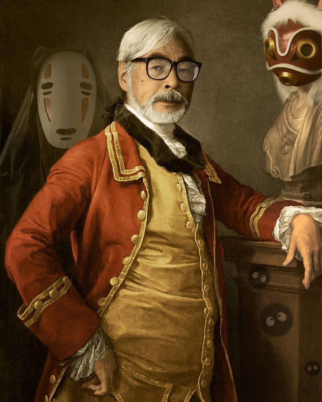 Cet artiste français ajoute des célébrités et des personnages dans des peintures classiques et ces portraits sont plutôt réussis