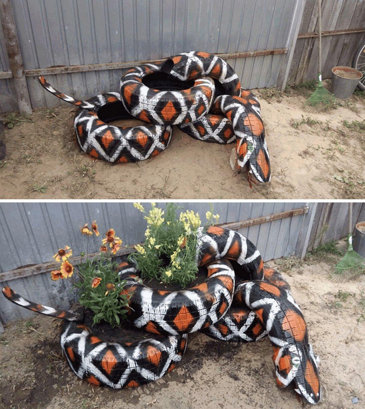 Voici les choses les plus bizarres aperçues dans les jardins et les cours des gens