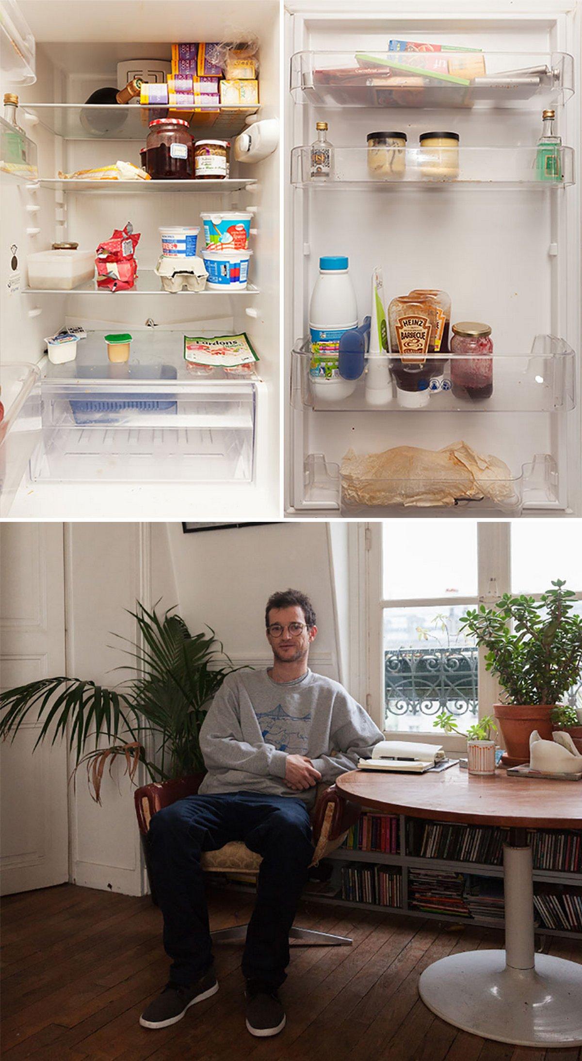 Cette photographe compare 14 réfrigérateurs et leurs propriétaires à travers le monde